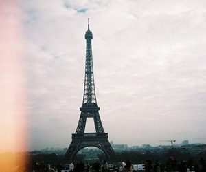 beautiful, eiffel tower, and pretty image