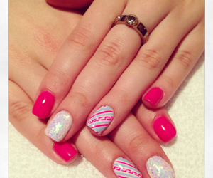 design, girly, and nails image