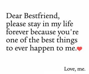 Bestfriend, Quotes, And Life Image