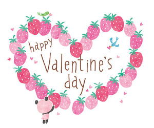 love, heart, and valentines day image