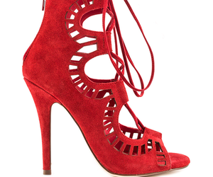 red heels, red shoes, and guisseppe zanotti image