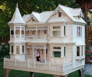 dolls, dolls house, and little house image