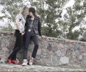 julian casablancas, couple, and love image
