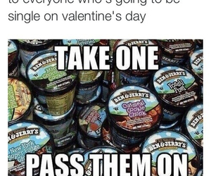 ice cream, valentines day, and single image