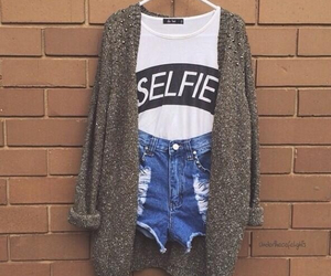 selfie, fashion, and outfit image