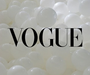 vogue, balloons, and white image