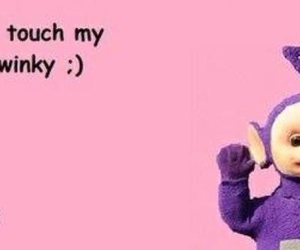 funny, card, and teletubbies image
