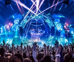 music, rave, and party image