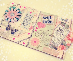 scrapbook and love image