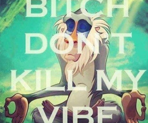 vibe, bitch, and lion king image