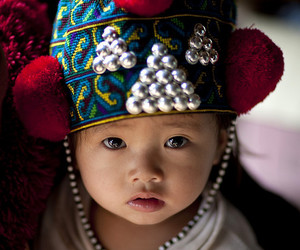 baby and Laos image