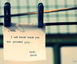 god, love, and child image