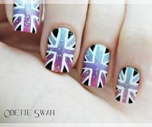 nails, nail art, and uk image