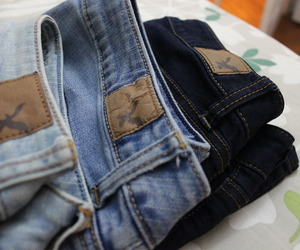 jeans, fashion, and american eagle image