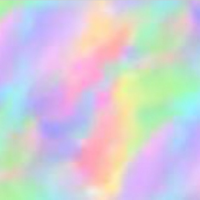 Rainbow Background Discovered By Teenage Queen