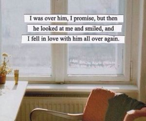 him, smile, and quote image