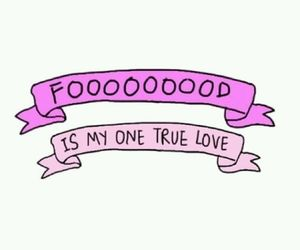 food, love, and pink image