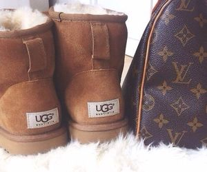 ugg, Louis Vuitton, and uggs image