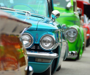 colors and old car image