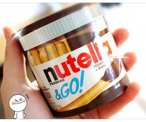 line, nutella, and sweet image