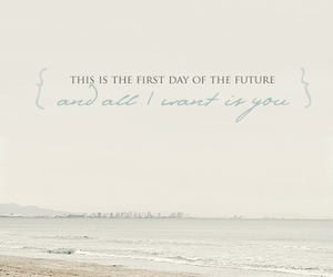 love, future, and beach image