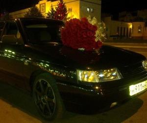 سيارة, زهور, and باقه image