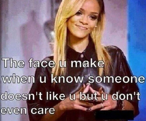 rihanna, quote, and face image