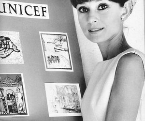 audrey hepburn and UNICEF image