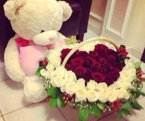 flowers, sweet, and romantic image