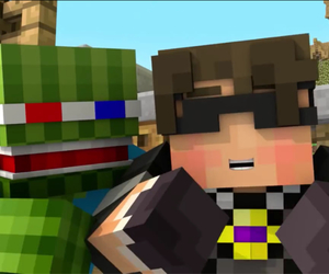 minecraft, skydoesminecraft, and bashurverse image