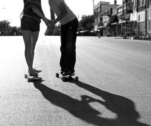 couple, girl, and sweat image