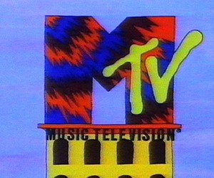 mtv and 90's image