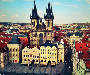 city, czech, and europe image