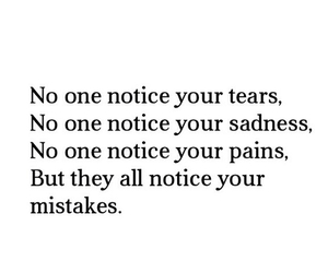 mistakes, tears, and quote image