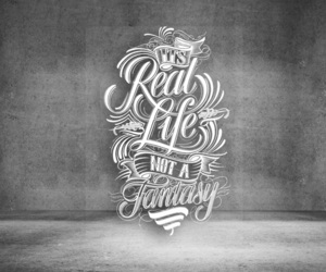 calligraphy, quotes, and chalk art image