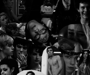 black & white, boys, and skins image