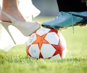 football, love, and ball image