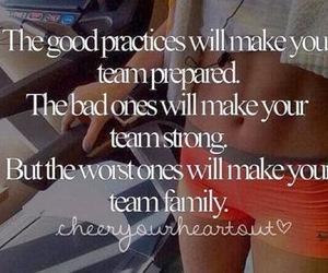 practice, team, and cheerleading image