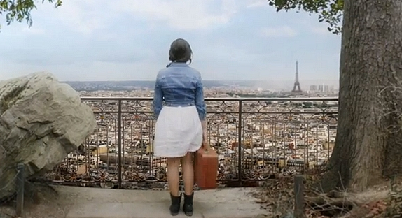 france, paris, and indila image