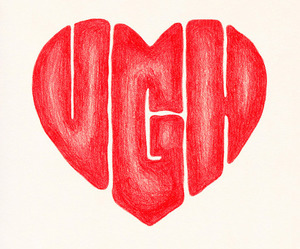 heart, ugh, and love image