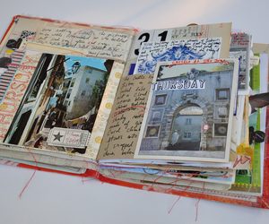 scrapbook and book image