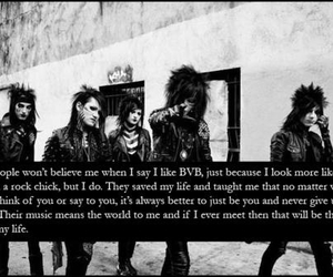 bvb, quote, and black veil brides image