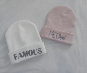 famous, meow, and pink image