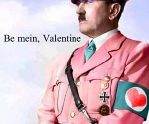 hitler and love image