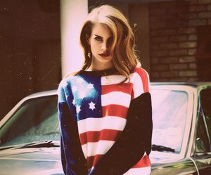 lana del rey, lana, and usa image