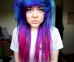 alt girl, alt model, and dyed hair image