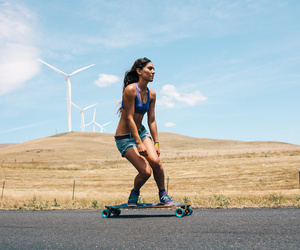 crew, longboard, and skatergirl image