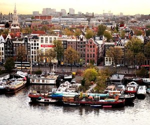 amsterdam, beautiful, and city image