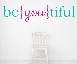 be yourself, beautiful, and room image