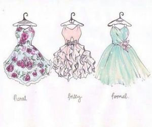 dresses and pretty image